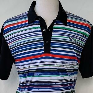 Puma Tech Dry Cell Polo Shirt.  Medium.